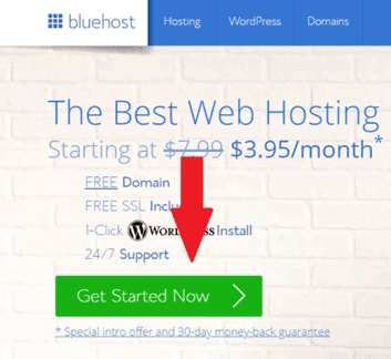 build a website hosting