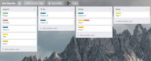 Kanban Tips: Create a Legend on your Trello Kanban Board